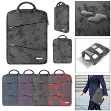 Universal 14 inch Vertical Laptop Bag Case For macbook air pro 13 inch Nylon Not