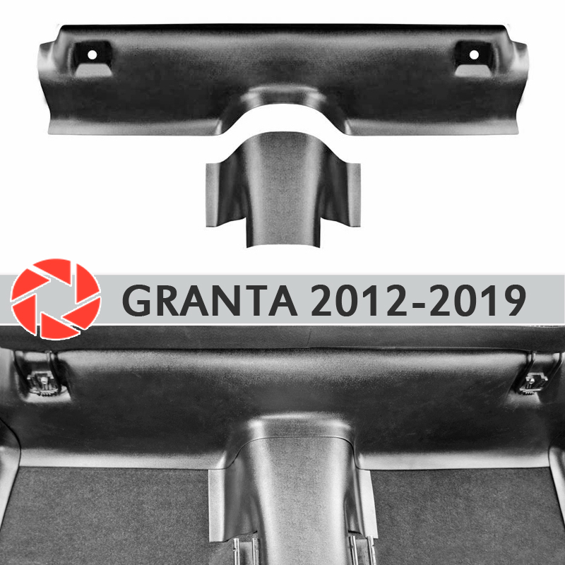 Podkładki pod tylnymi pokrowce na siedzenia na dywanie dla Lada Granta 2012-2019 obudowa progu akcesoria ochrona dywanu car styling