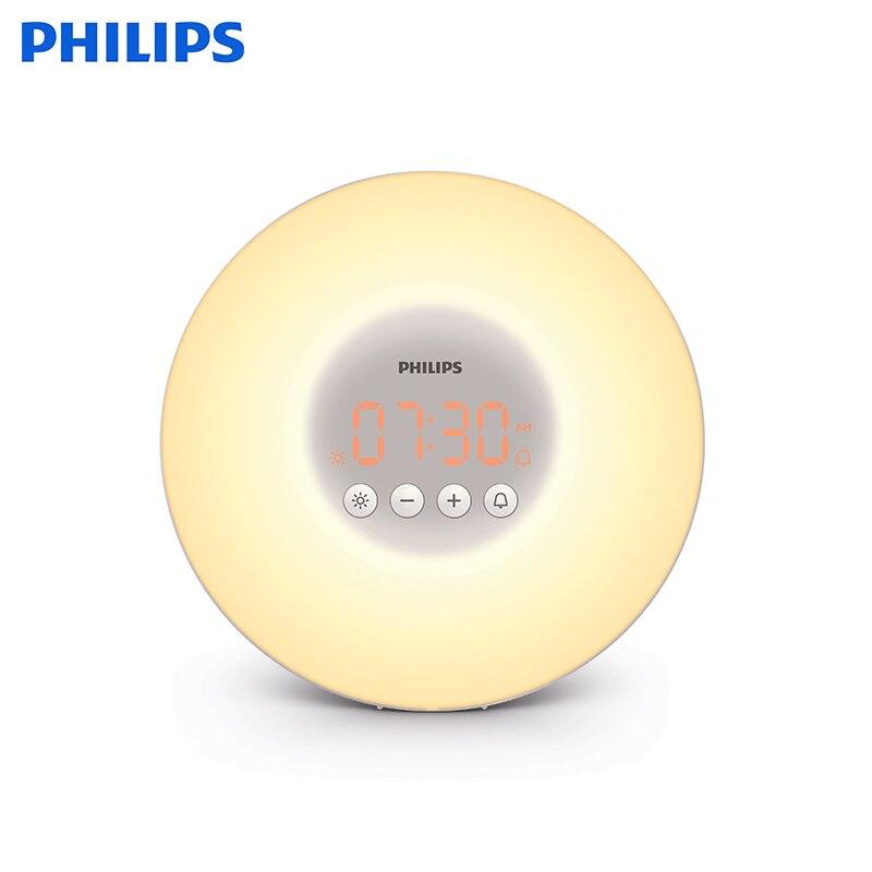 Купить со скидкой Световой будильник Philips Wake-up Light HF3505/70