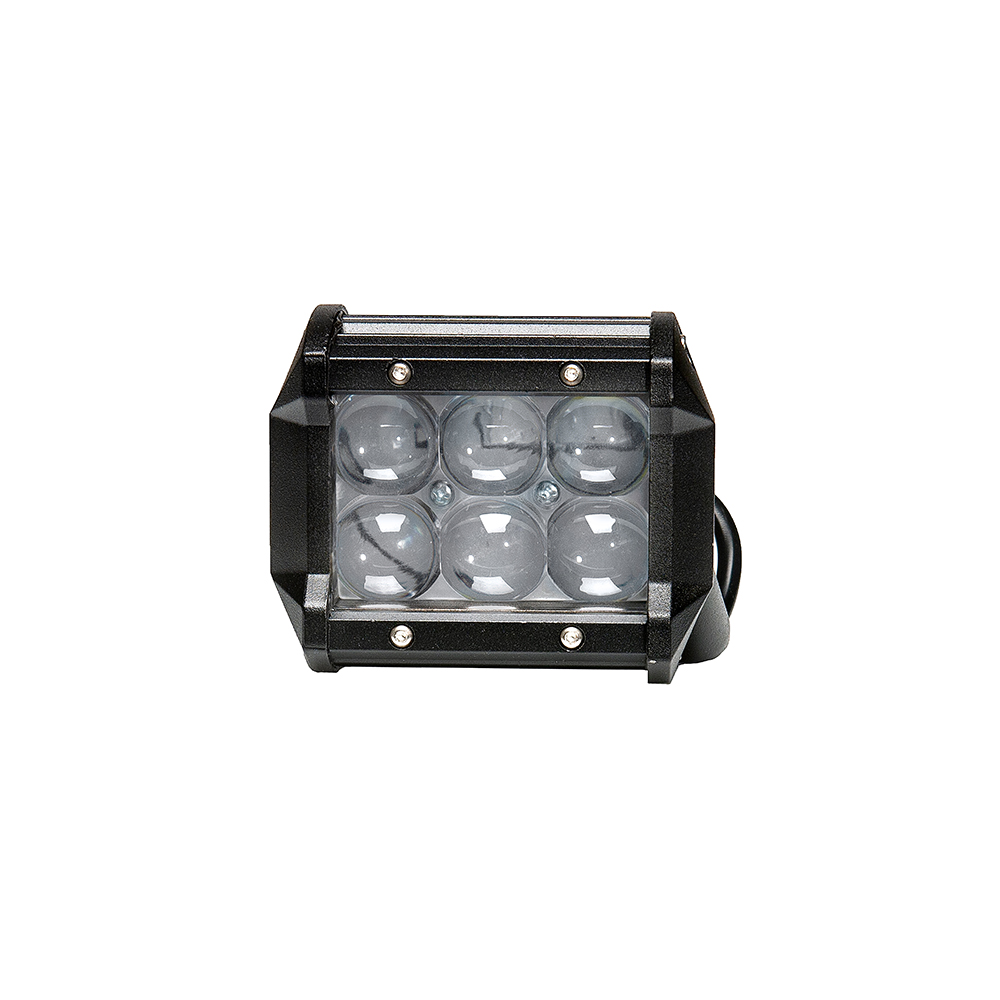 18w DRL Daytime Running Light LED 10 30V waterproof car accessories SUV 4WD 4x4 motorcycle off road for LADA NIVA UAZ-in Light Bar/Work Light from Automobiles & Motorcycles