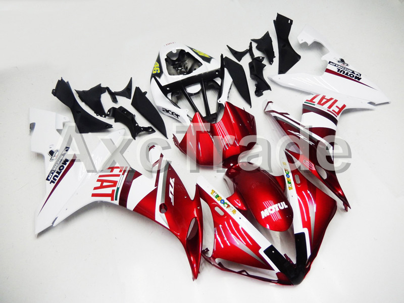 Motorcycle Fairings Kits For Yamaha YZF-R1000 YZF-R1 YZF 1000 R1 2004 2005 2006 ABS Injection Fairing Bodywork Kit Red and white for yamaha yzf 1000 r1 2004 2005 2006 motorbike seat cover motorcycle yellow fairing rear sear cowl cover free shipping
