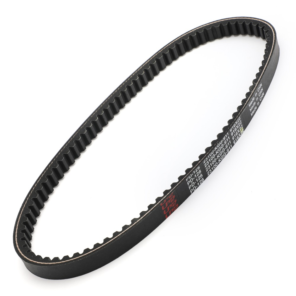 Areyourshop Motorcycle Drive Belt For <font><b>Honda</b></font> FES125 PES125 R NES/SES/<font><b>SH</b></font>/PES <font><b>125</b></font> i 150 R 2000-2012 2001 Motorcycle Accessories image
