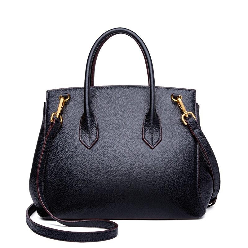 2019 nowe panie mody prawdziwej skóry torba na drobiazgi luksusowe torebki zamek elegancki kobiet Messenger torby na ramię moda MH202 w Torby z uchwytem od Bagaże i torby na  Grupa 3