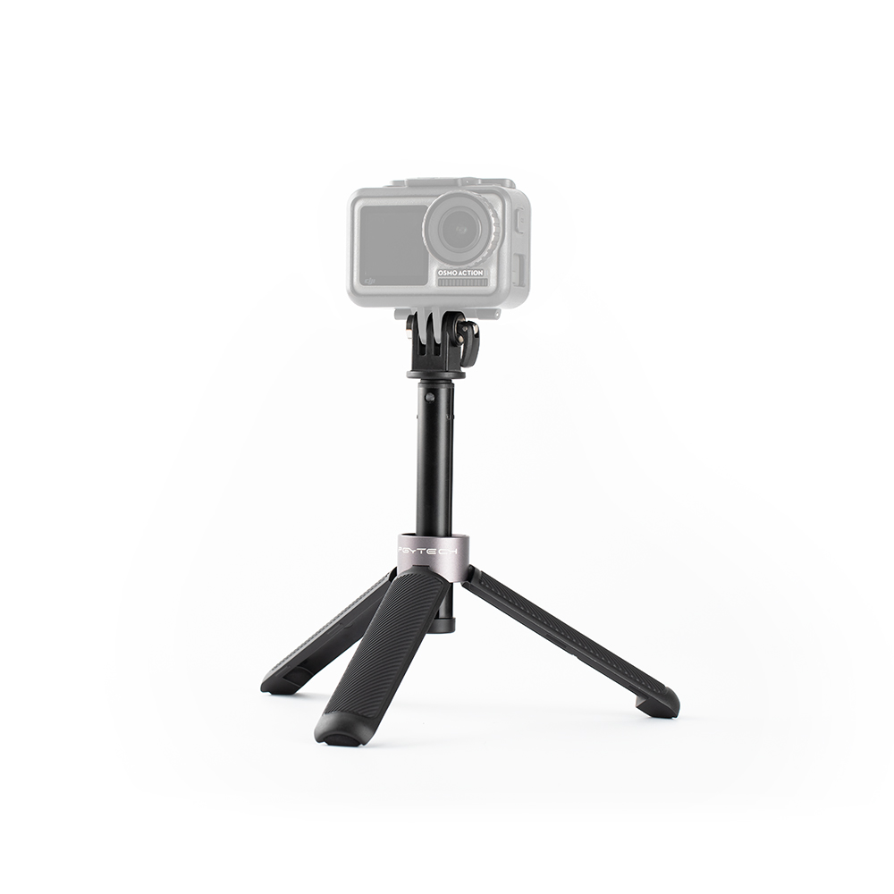PGYTECH Action Camera extension Pole Tripod Mini For Osmo action Gopro hero 7 xiaomi yi 4k Drone Accessories Kits     - title=
