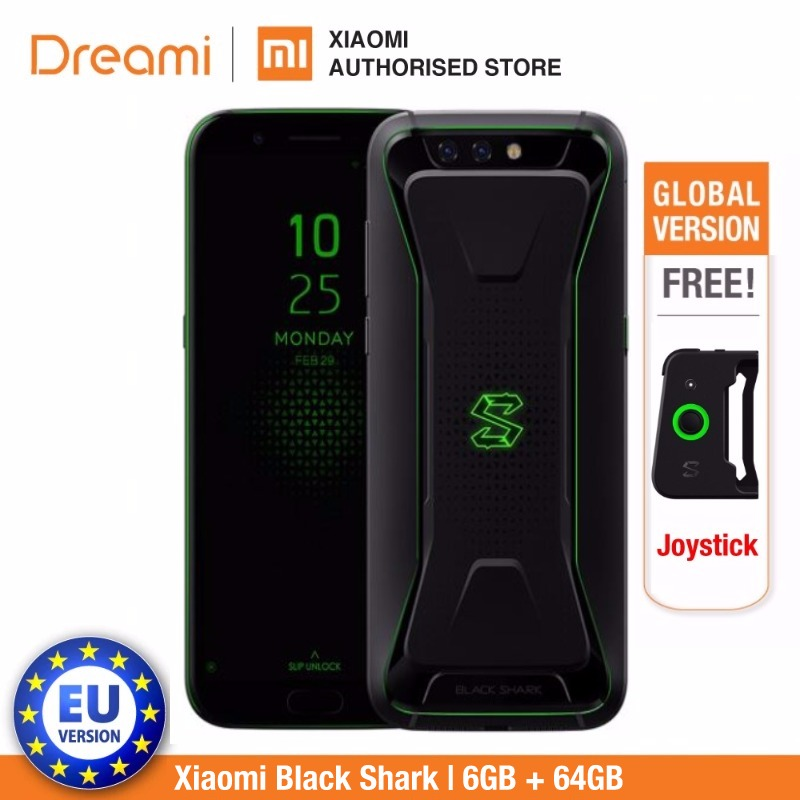 Global Version Xiaomi Black Shark 64GB ROM 6GB RAM (Brand New and Sealed) Blackshark
