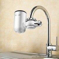 GWAI Elektrische Instand Wasser Heizung Wasserhahn Küche Mini Tragbare Wasser Erwärmung Hahn Durchlauferhitzer Wasserhahn DRS S30W708-in Elektrische Warmwasserbereiter aus Haushaltsgeräte bei