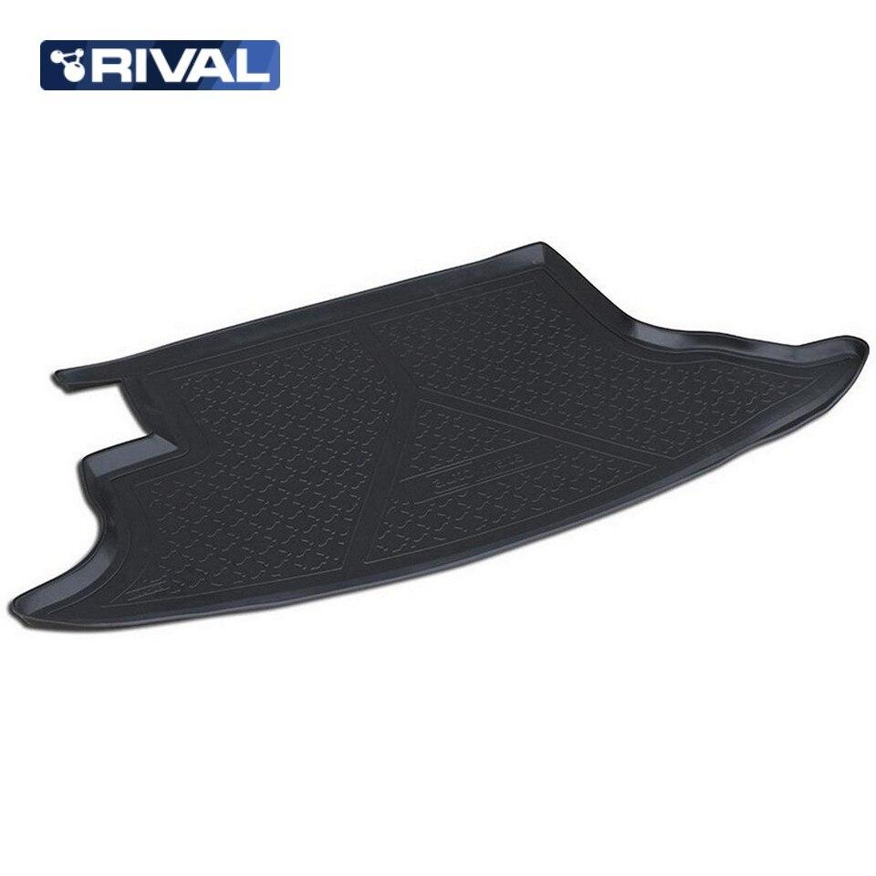For Chevrolet Niva 2009-2019 trunk mat Rival 11004002 for chevrolet cruze sedan 2009 2015 trunk mat rival 11003003