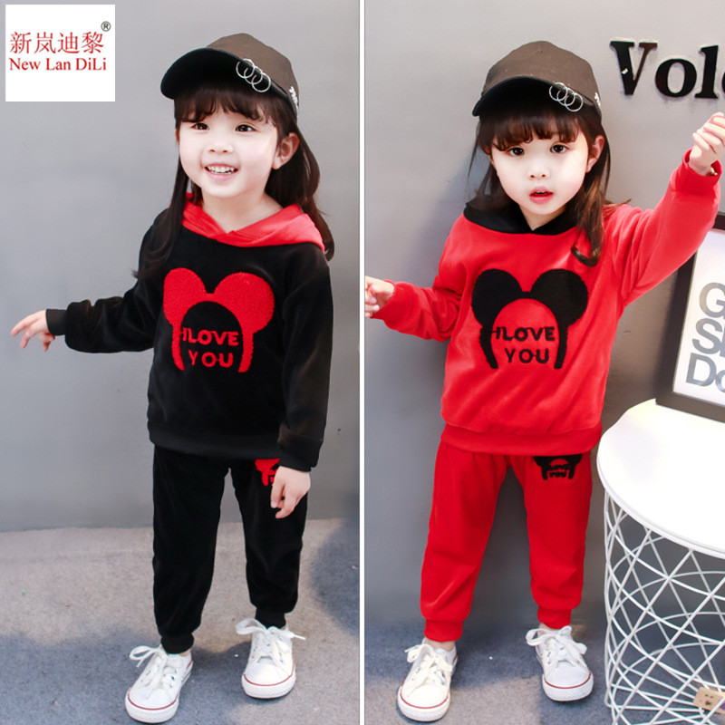 spring autumn new trend child boys women hoodies sport swimsuit Kids clothes set toddler informal youngsters tracksuit set Clothes Units, Low cost Clothes Units, spring autumn new trend child...