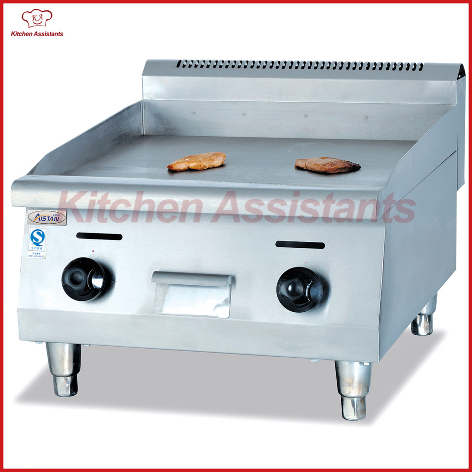 GH24 gas desktop commercial stainless steel griddle machine