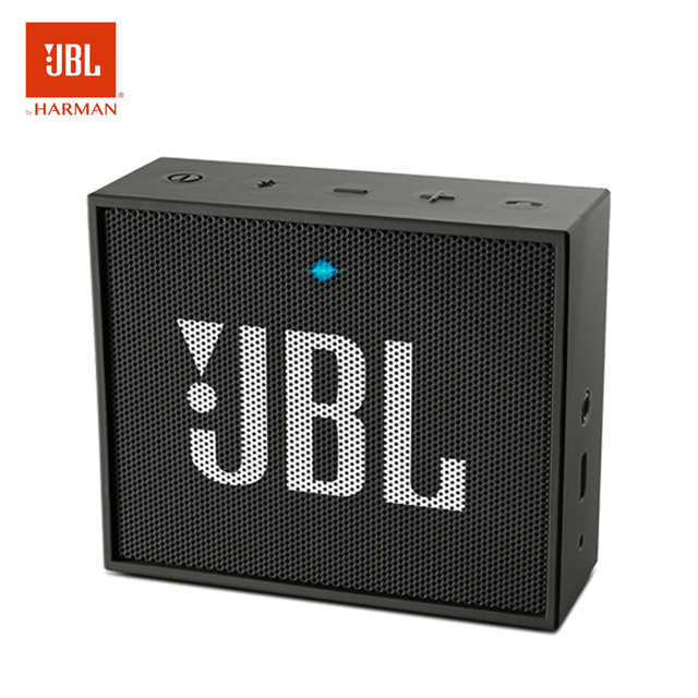 JBL GO Altavoz Portátil Bluetooth para Smartphones Tablets y Dispositivos MP3 Speaker Recargable Aux 5 Horas con Color Negro.