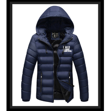 Men's Outerwear, men's jacket, headphones, casual wear, winter coat, long sleeve cotton padded clothes