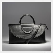 England Stylish design ladies leather handbag high quality leather handbag high end atmosphere women s tide