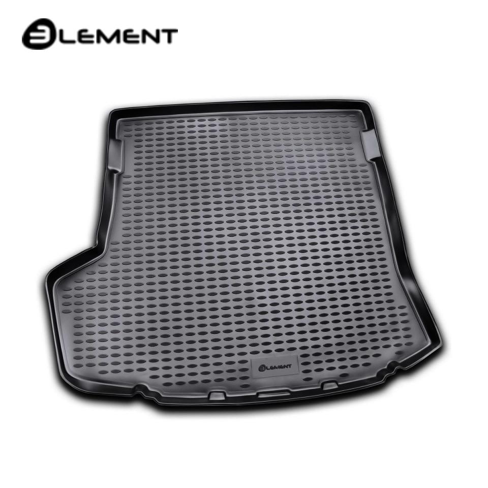 лучшая цена For Toyota Corolla E150 2007-2013 car trunk mat Element NLC4815B10
