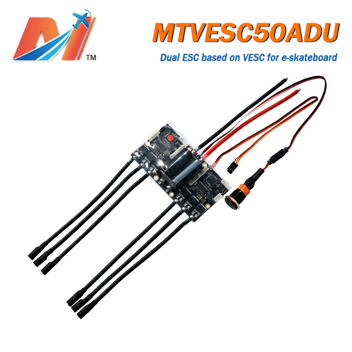 Maytech Dual VESC based controller electric skateboard longboard dual ESC based on VESC vedder Pcb BLDC