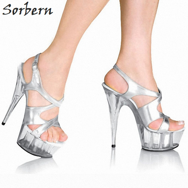 Sorbern Fashion Cross Straps Women Sandals Spike High Heels Size 12 Womens Shoes Kim Kardashian Shoes Sweet 16 Party Decorations romyed bridals wedding shoes kim kardashian pumps superstar shoes top quality flowers evening christian shoes size 4 16 shofoo