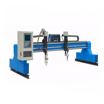 China gantry type CNC plasma cutting machine for aluminum/iron/steel/metal sheets cutting 2