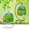 Clear Hanging Glass Aquarium Fishbowl Fish Tank Flower Plant Vase Handmade Decor Hanging Bowl Home Wall Decor without Hanger 4