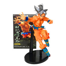 23CM Anime Dragon Ball Z Super Ultra Instinct Goku Action Figures Master Stars Piece Dragonball Figurine Collectible Model Toy(China)
