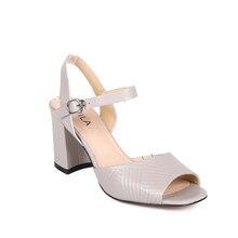 Женские босоножки; женская обувь на каблуке; женская летняя обувь из искусственной кожи AVILA RC702_AG020014-14-1-3; женские сандалии на танкетке