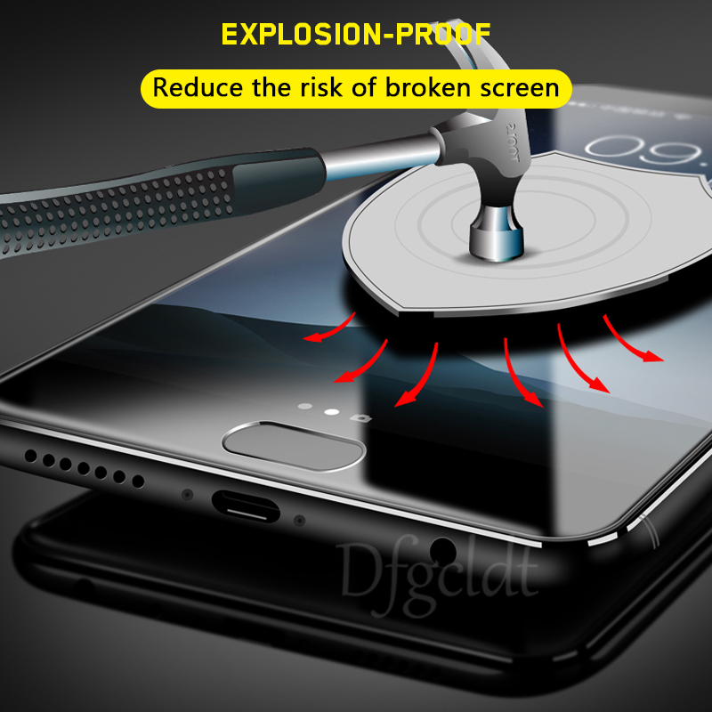9H Premium Tempered Glass for Huawei Honor 8 V8 V9 9i V9 Play 9 Lite V10 Explosion Proof Screen Protector Honor 6x 6 Plus Film in Phone Screen Protectors from Cellphones Telecommunications