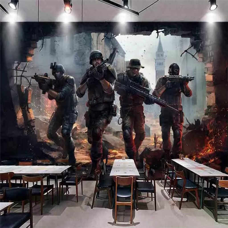 Star Wars Internet Cafes Dedicated Background Wall Professional Production Murals Wholesale Wallpaper Mural Poster Photo Wall Fabric Textile Wallcoverings Aliexpress