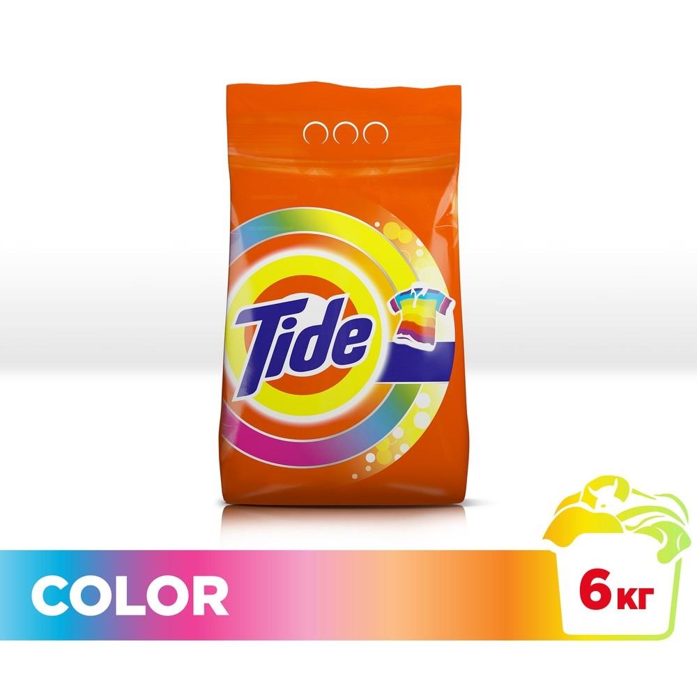 Laundry detergent Tide Automatic Color 40 wash 6 kg.