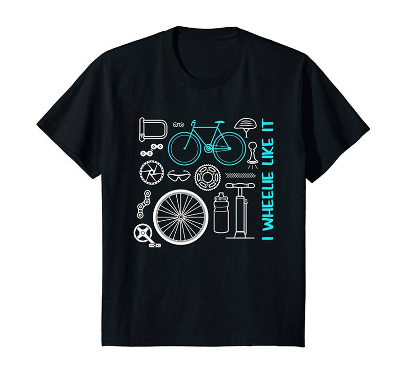 Designer Tee Shirts Mtb Mountain Biker O-Neck Men Short Funny T Shirt ...