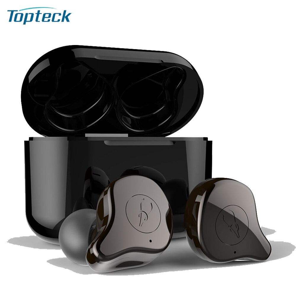 Sabbat E12 TWS Wireless Bluetooth 5 0 earphone Auto pairing w 750mAh Charging Box Supporting Wirele