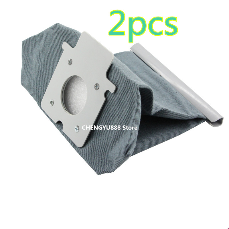 2pcs Vacuum cleaner bag Hepa filter dust bags cleaner bags Replacement For Panasonic MC-CG465 MC-CG661 MC-CG663 MC-CG665 panasonic мешок для пылесоса panasonic mc 7110