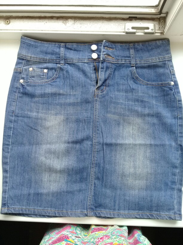 Womens Short Denim Skirts For Women Denim Mini Skirt Female Plus Size Skirts Womens Bandage Jeans Skirt With High Waist Summer photo review