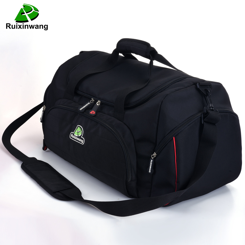 Ruixinwang Luggage Travel Bags Women Nylon Weekend Bags Large Capacity Men Handbag Weekend Large Travel Bags luggage