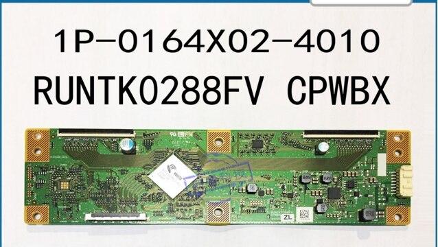 RUNTK0288FV CPWBX ZLZD scheda logica per lo schermo 4 k 1P-0164X02-4010 T-CON collegare bordoRUNTK0288FV CPWBX ZLZD scheda logica per lo schermo 4 k 1P-0164X02-4010 T-CON collegare bordo