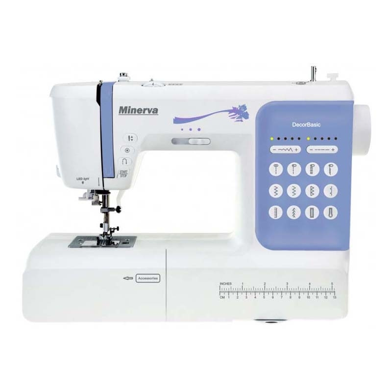 Sewing machine Minerva DecorBasic sewing machine minerva cs1000pro