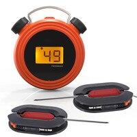 DANIU Smart Wireless Remote Alarm Digitale BBQ Food Thermometer Grill Temperatur Tester mit Dual Sonden