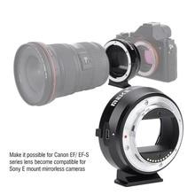 MEIKE EF NEX adaptateur électronique de mise au point automatique pour objectif Canon EF EFS à Sony plein cadre E Mount A9 A7M3 A7R3 A7R2 A6500 A6400 a6300