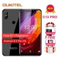 OUKITEL C13 Pro Mobile Phone 5G/2.4G WIFI 6.18 19:9 2GB 16GB Android 9.0 MT6739 Quad Core 4G LTE Smartphone Face ID Fingerprint