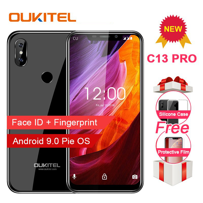 "OUKITEL C13 Pro Handy 5G/2,4G WIFI 6,18 ""19:9 2GB 16GB Android 9.0 MT6739 quad Core 4G LTE Smartphone Gesicht ID Fingerprint-in Handys aus Handys & Telekommunikation bei AliExpress - 11.11_Doppel-11Tag der Singles 1"