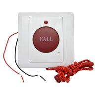10 STÜCKE Notruftaste Schließer signal 86mm größe Seil stil panic Button Alarm system automatische wiederherstellung-in Notruf-Taste aus Sicherheit und Schutz bei