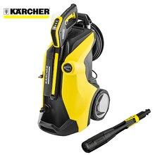 Мини-мойка портативная Karcher K 7 Premium Full Control Plus *EU (Вес 18 кг, 600 л/час, 60 м2/час, макс.темп. воды на выходе 60°C, Мягкий мешок для аксессуаров, Штуцер А3/4 дюйма)