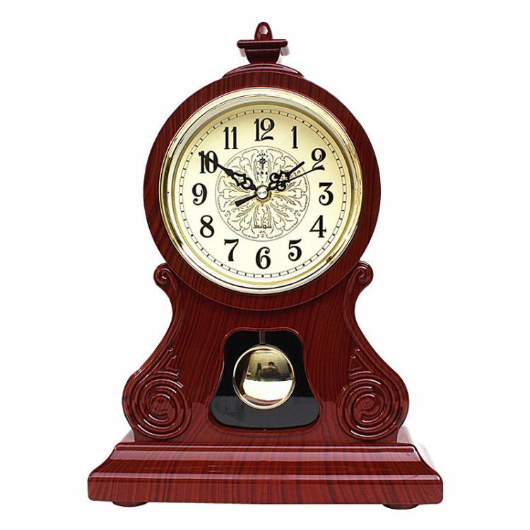 ساعت جدول Vintage کلاسیک ساعت ، اتاق نشیمن میز تلویزیون کابینت میز امپریال مبلمان خلاق نشستن آویز ساعت