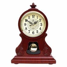 Reloj de mesa, reloj Vintage, sala de estar clásica, mueble de TV, escritorio, muebles imperiales, reloj de péndulo de asiento creativo