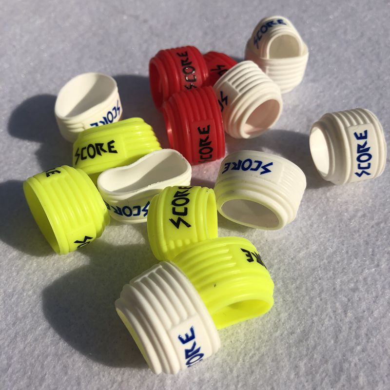 5pcs Badminton Racket Handle Grips Sealing Ring,silicone Squash Racket Grips Ring Free Shipping