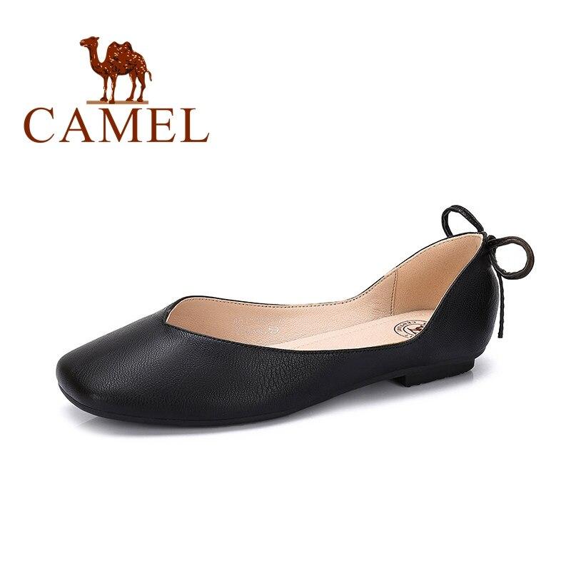 CAMEL 2019 nowa wiosenne buty na co dzień kobieta balet płytkie pojedyncze buty damskie moda miękkie wygodne płaskie buty w stylu casual dla kobiet w Damskie buty typu flats od Buty na AliExpress - 11.11_Double 11Singles' Day 1