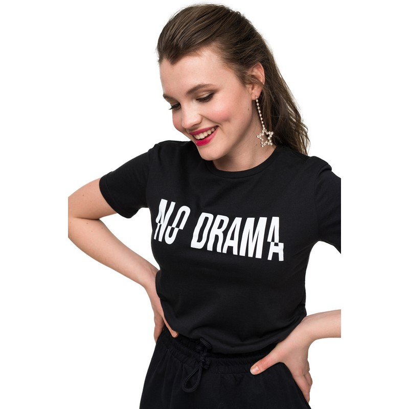 T-Shirts befree shirt for female cotton shirt short sleeve women clothes apparel  1811579424-54 TmallFS dark blue casual one shoulder short sleeve t shirt