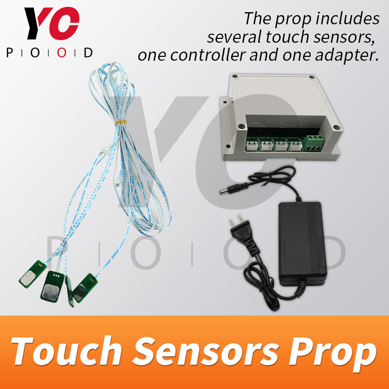 Image 3 - YOPOOD Touch Sensor Prop Escape Room Touch in Correct Sequence to Unlock Takagism Game Real Life Adventure Game Chamber Room-in Access Control Kits from Security & Protection