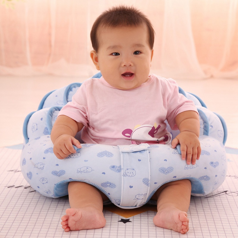 Creative 0-2y Kid Baby Support Seat Sofa Sitting Chair Cushion Infant Soft Plush Lounger Learning To Sit Posture Pillow Travel Car Seat Furniture Children Furniture