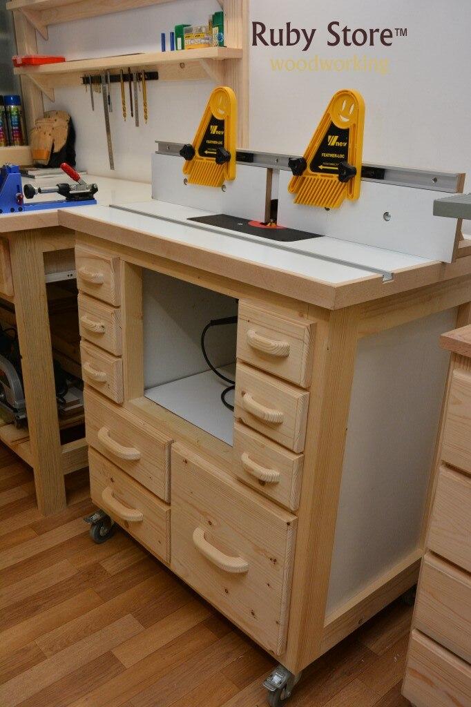 serras de mesa roteador & mesas cercas