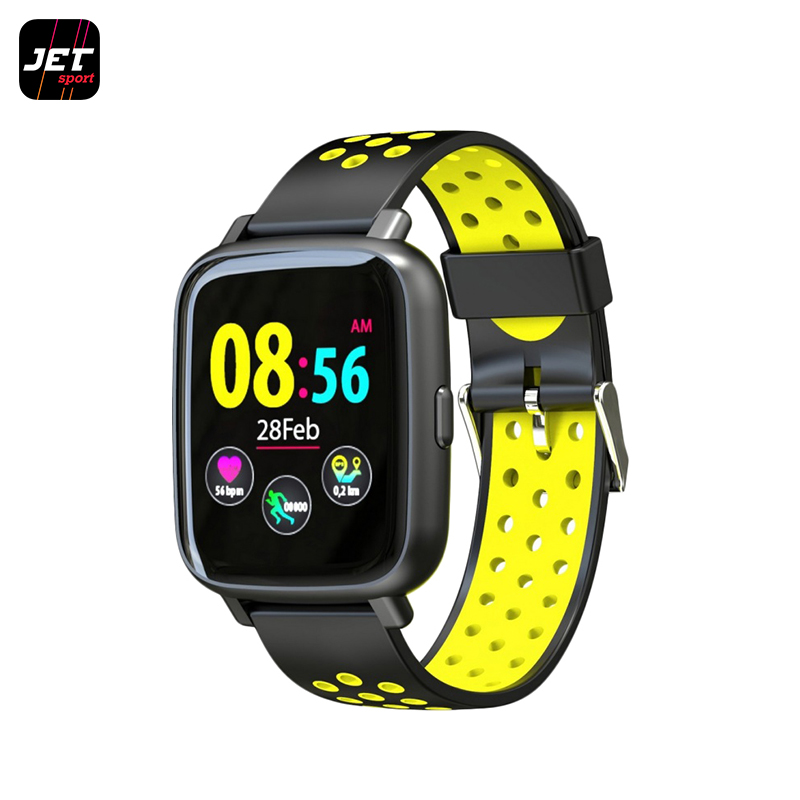 Smart Watch JET Sport SW-5 new luxury brand lige automatic mechanical watch men fashion gold full steel sport waterproof business watches relogio masculino