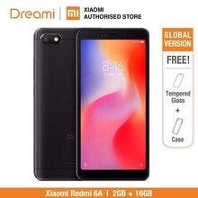النسخة العالمية شاومي Redmi 6A 16GB ROM 2GB RAM (العلامة التجارية الجديدة ومختومة)