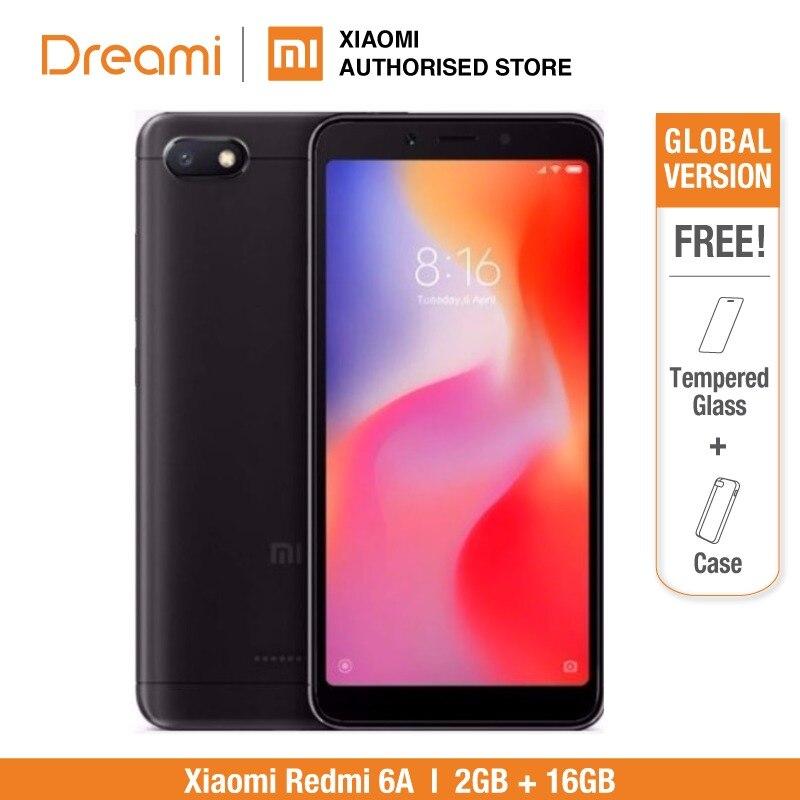 Versión Global Xiaomi Redmi 6A 2GB RAM 16GB ROM (Nuevo y Sellado) redmi 6A 16gb